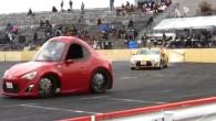 Toyota GT86 z Kinder vajíčka na závodech D1 Grand Prix - video