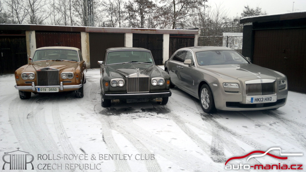 Rolls-Royce Ghost EWB & Silver Shadow
