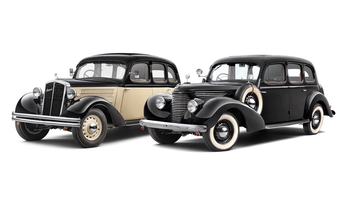 Skoda Superb 640 (1935), Superb 3000 OHV (1939)