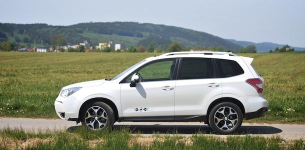Subaru Forester XT test