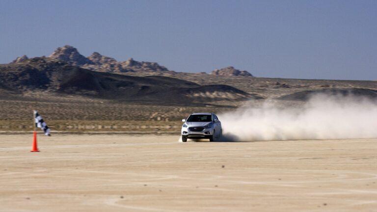 Hyundai Tucson Fuell Cell vytvořil rychlostní rekord
