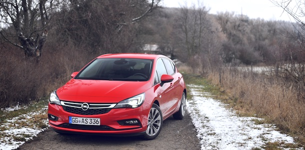 Test Opel Astra