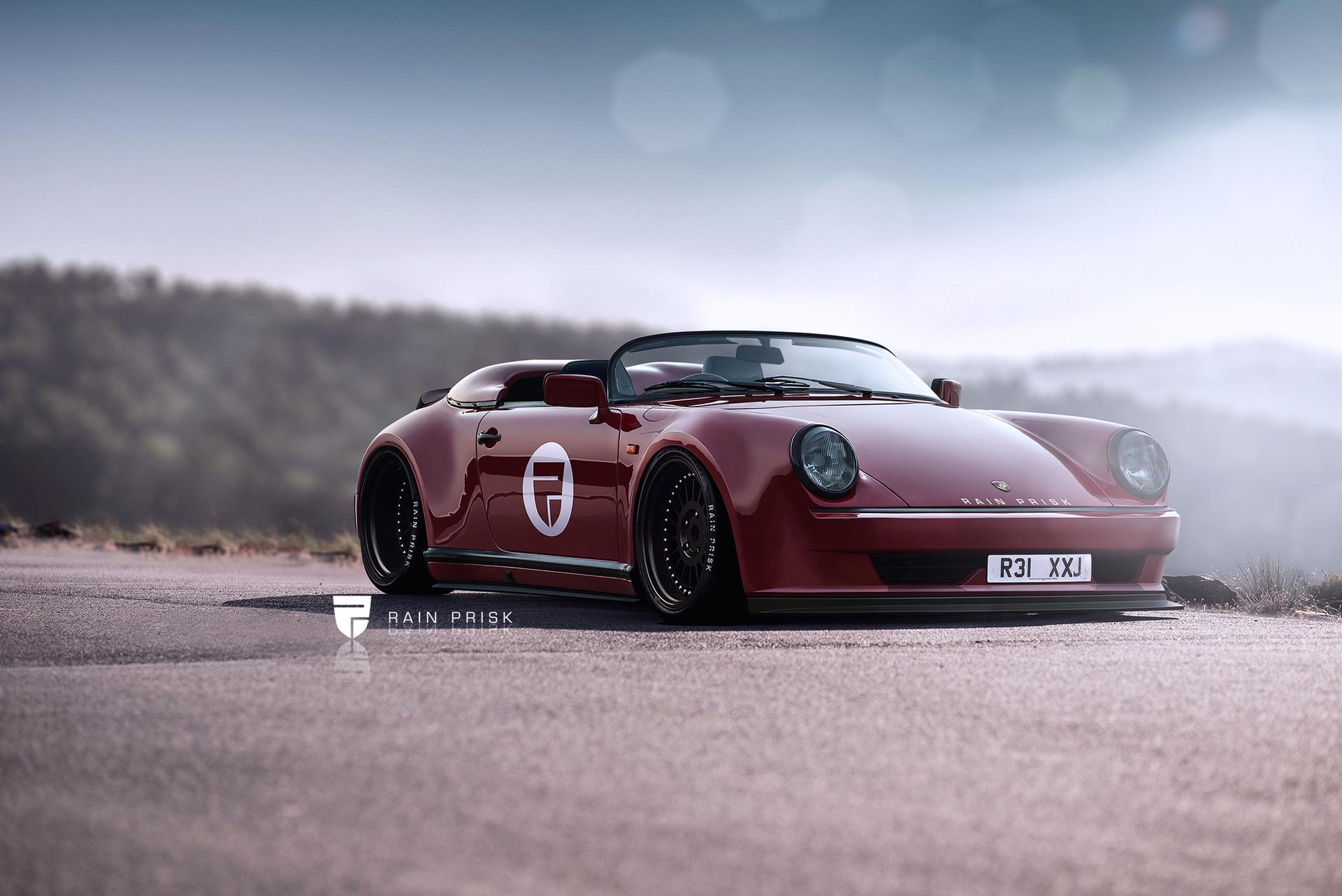 porsche-911-speedster-RWB-rain-prisk