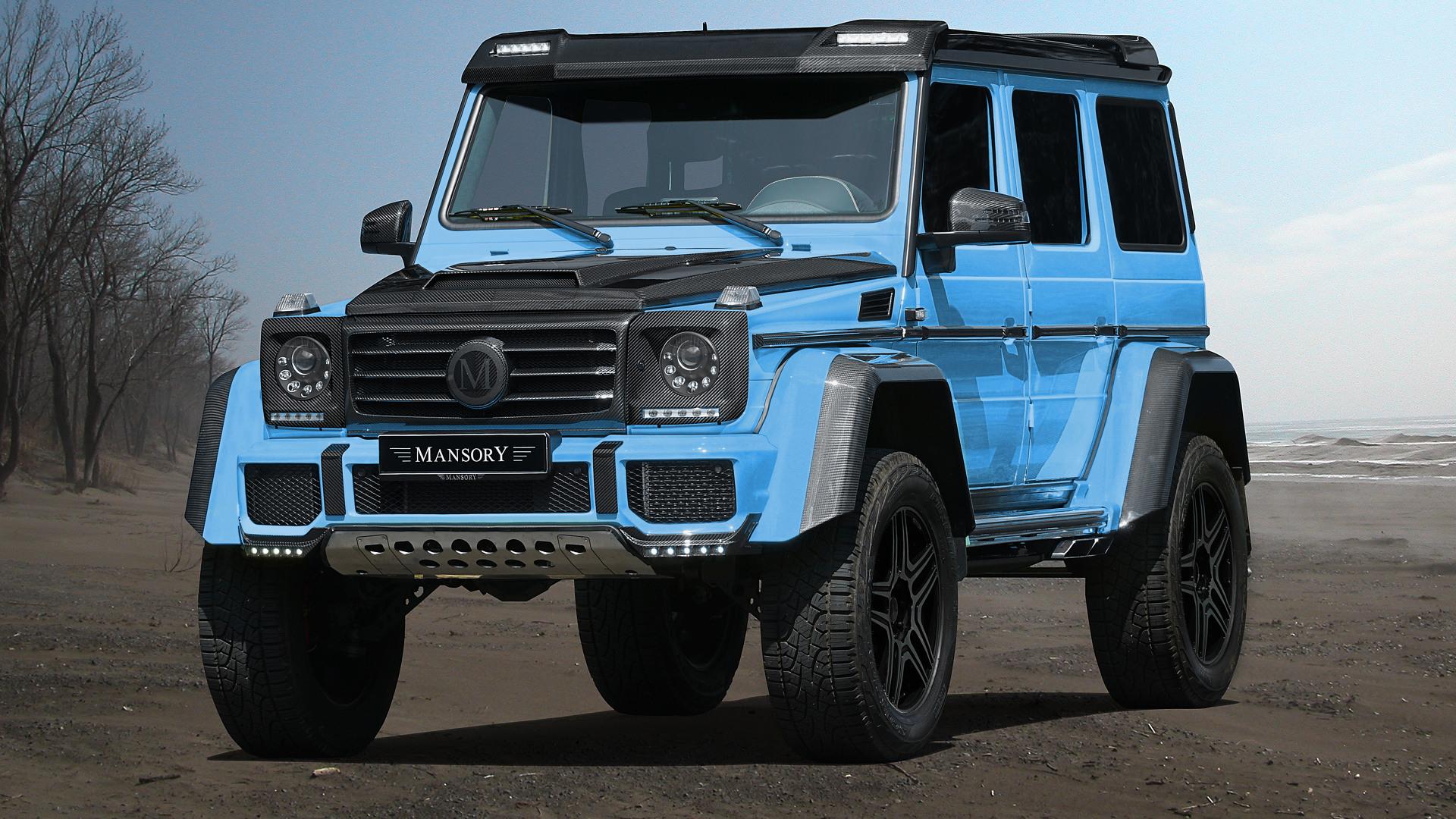 Mercedes Benz G500 4x4² Å¡moul offroad od Mansory