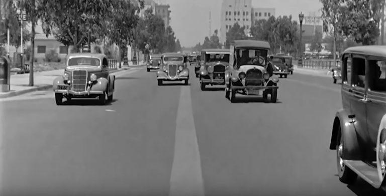 Jak to vypadalo v ulicích Beverly Hills před téměř sto lety? – video