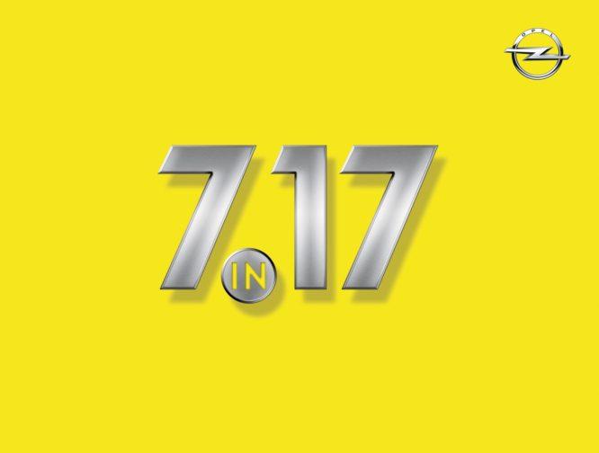 """7 v17"": Sedm nových modelů Opel v roce 2017"