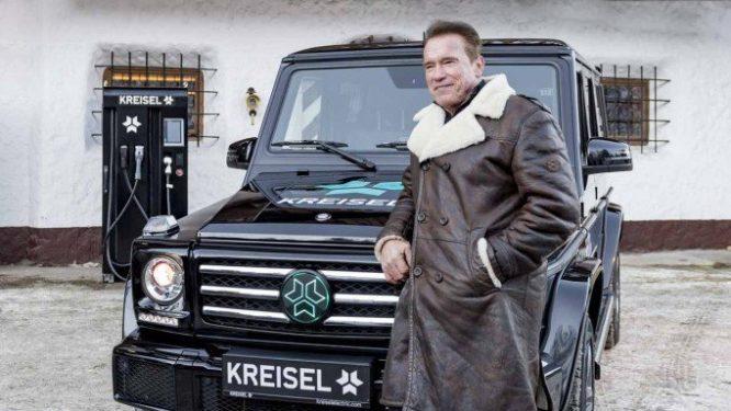 "Arnold Scharzenegger si nechal postavit elektrické ""Géčko"" – video"